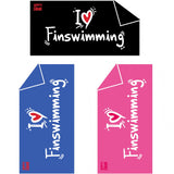 I love Finswimming towel