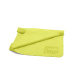 Green chamois towel