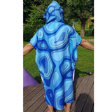 Hooded Poncho Changing Robe Towel- ADULT