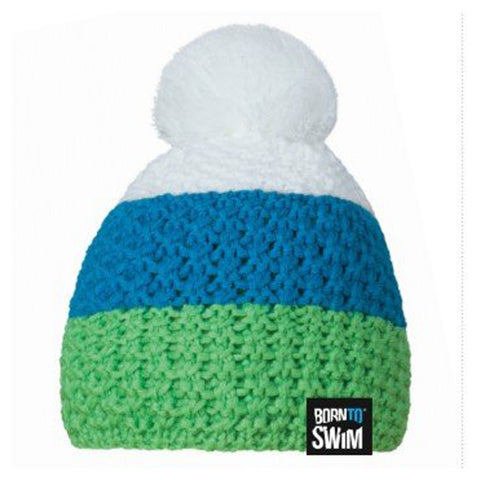 Knitted PomPom Beanie Hat
