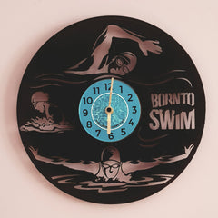 Vinyl Wall Clock LP BornToSwim®