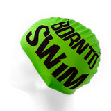 Silicone Swim Cap NEON with Black Logo