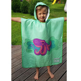 Changing Robe Poncho Towel With Hood - KIDS
