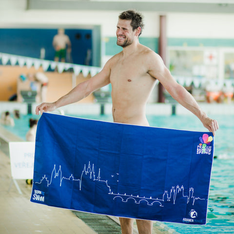 20th Prague Spring Multisport event towel