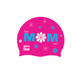 Best mom ever swim cap