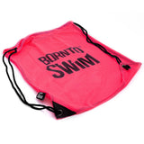 Pink swim bag for girls
