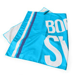 Microfiber Towel with Large BornToSwim® Logo