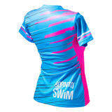 Born To Swim Coolmax T-shirt