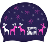 Christmas swim products - swim cap