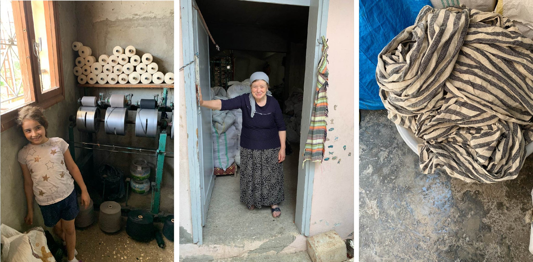 Our weavers in Turkey