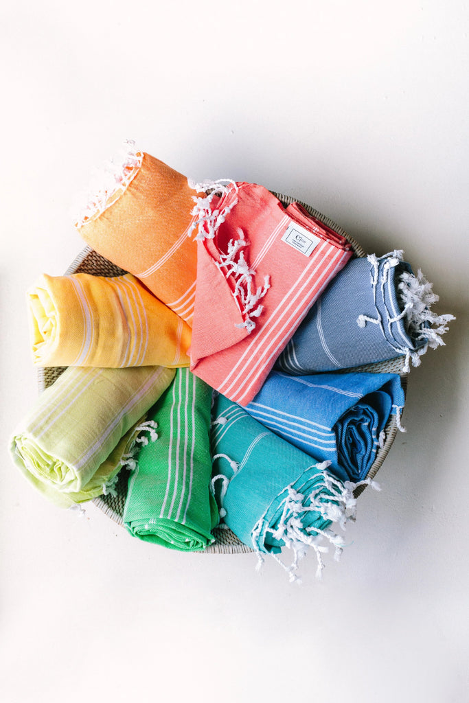 Summer brights towel set