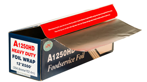 12 X 500 Tough Aluminum Foil By Ox Plastics
