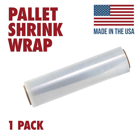 Tough Pallet Shrink Wrap, 80 Gauge 18 Inch X 1200 Stretch Film