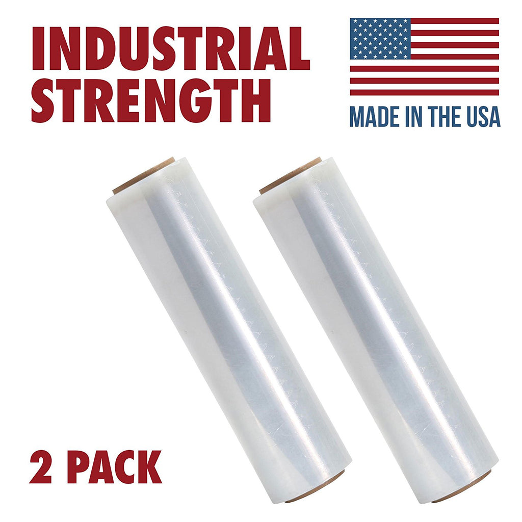 Tough Pallet Shrink Wrap, 80 Gauge 18 Inch X 850 Stretch Film