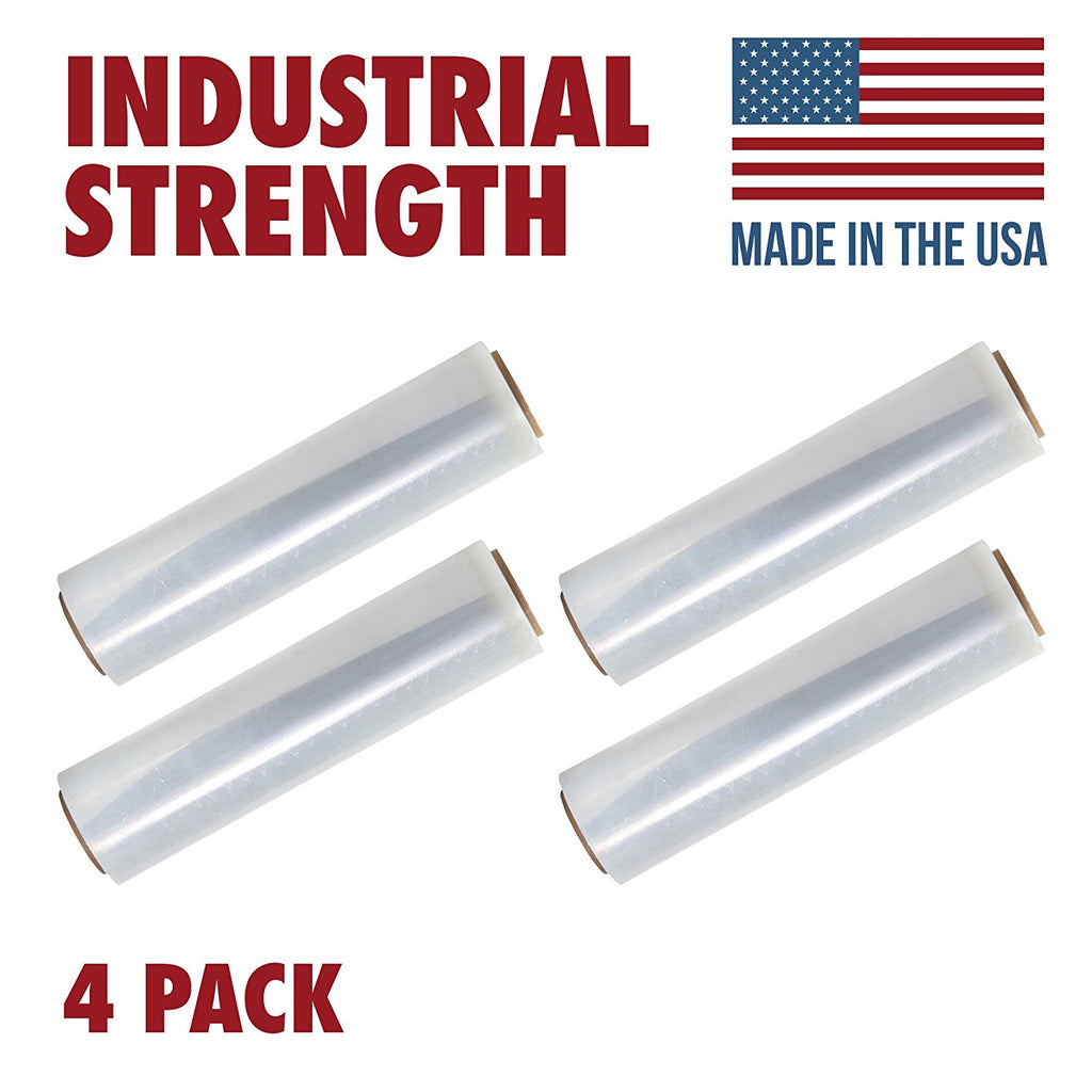 Tough Pallet Shrink Wrap, 18 Inch X 1200 Stretch Film, 80 Gauge