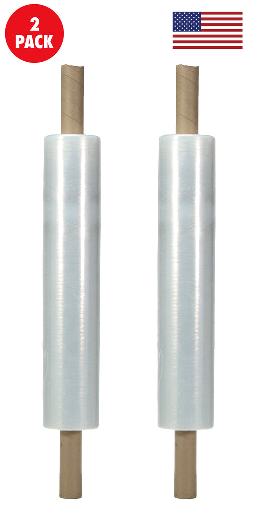 20 Inches X 1000 Feet Shrink Wrap Roll With Handles- 80 Gauge Thick, Clear