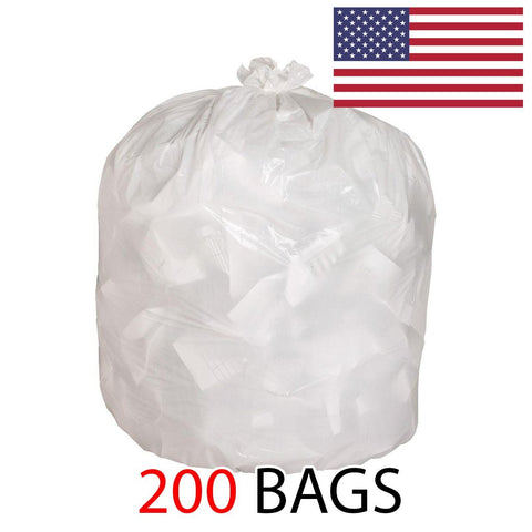 "13 Gallon 1.5 MIL Kitchen Garbage Bags, 32"" x 37"""