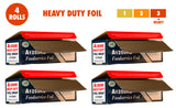Heavy Duty Aluminum Foil, 12 Inches X 500 Feet, Commercial, 80 Microns Thick