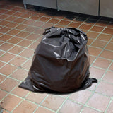 HUGE DISCOUNTS ON BULK ORDERS: 60-65 Gallon Extra Heavy Duty Contractor Garbage Bags Roll | 3.5 MIL Thick  40 X 60 | 50 Bag Roll | Puncture-Resistant