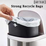 55 Gallon 1.5 MIL Strong Clear Trash Bags