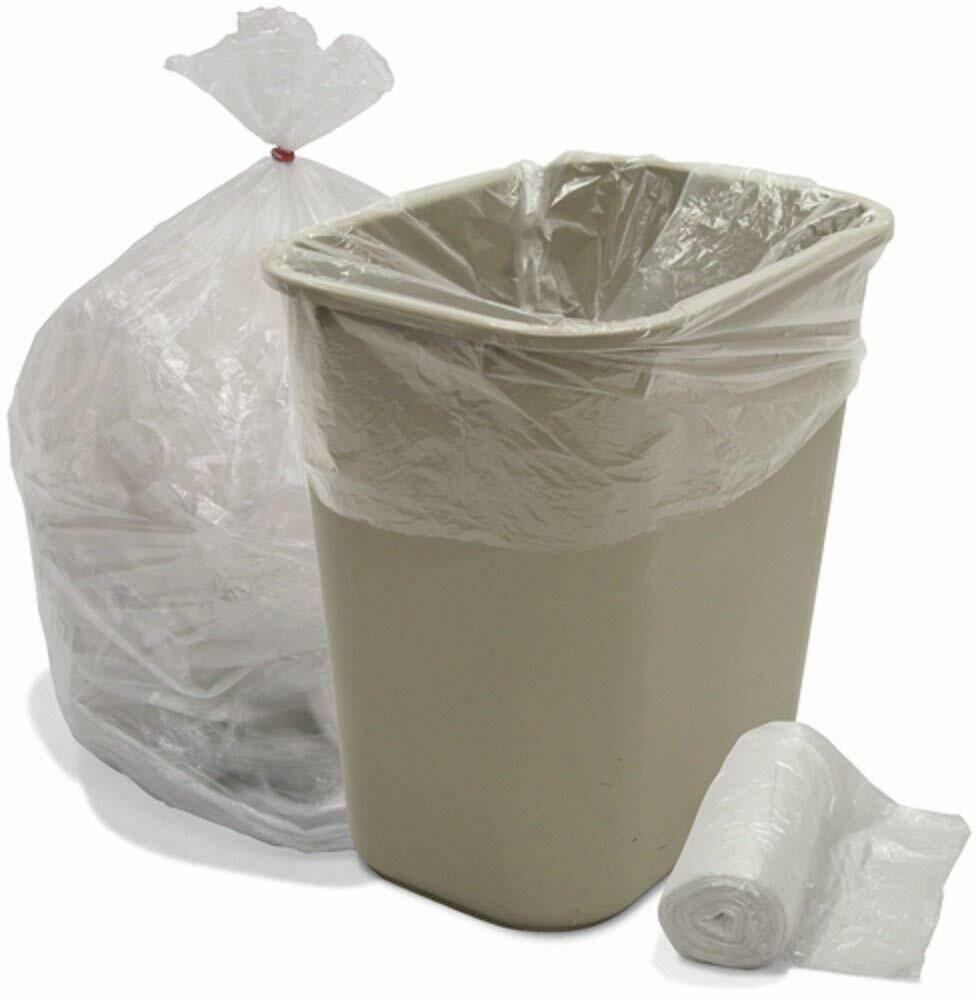 "Ox Plastics 24-30 Gallon Trash Can Liner, High Density 30""x37"", 500 Bags"