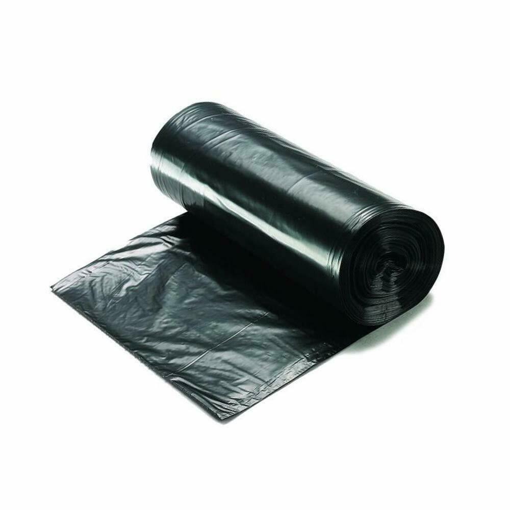 "Ox Plastics 55-60 Gallon Trash Can Liner, High Density 38""x60"", 150 Bags/Rolls Per Case, Easy To Use and Store, For Bathroom, Kitchen, or Office Wastebaskets"