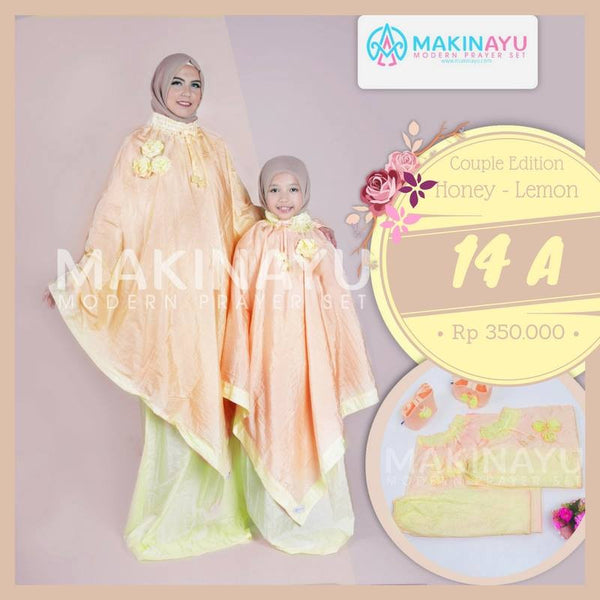 Mukena Couple Honey Lemon 14A