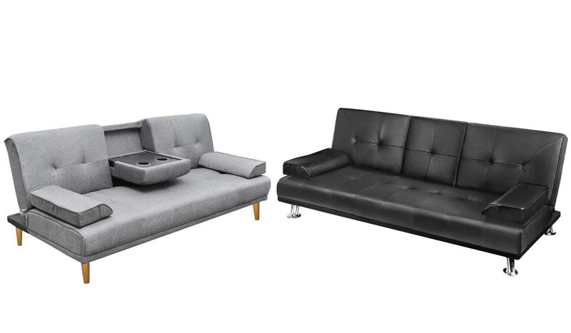 New Lounge Suite Sofa Beds with Cup Holders