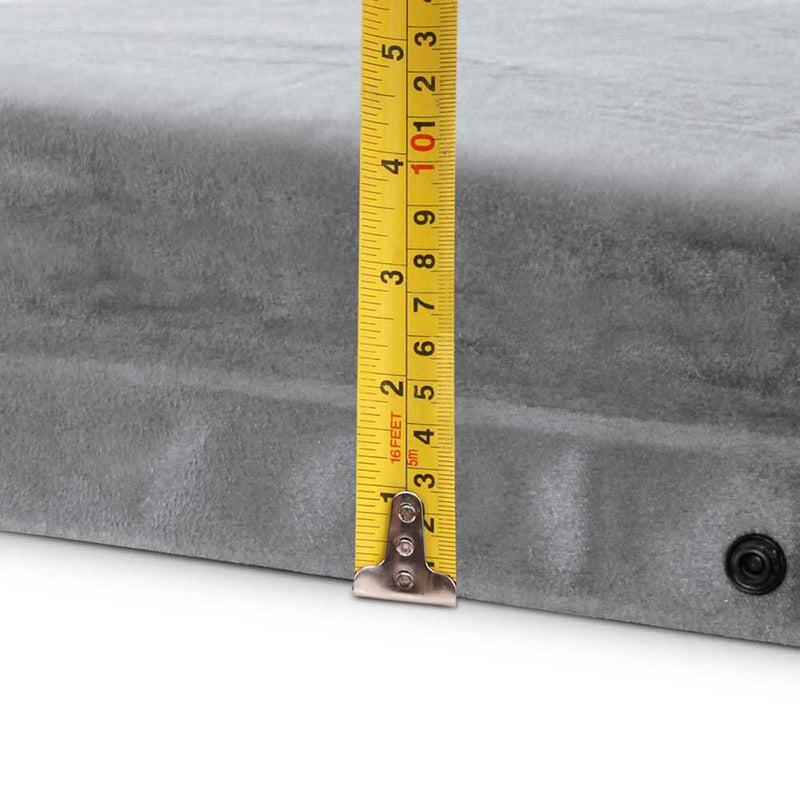 Self Inflating Mattress Double 10cm Grey