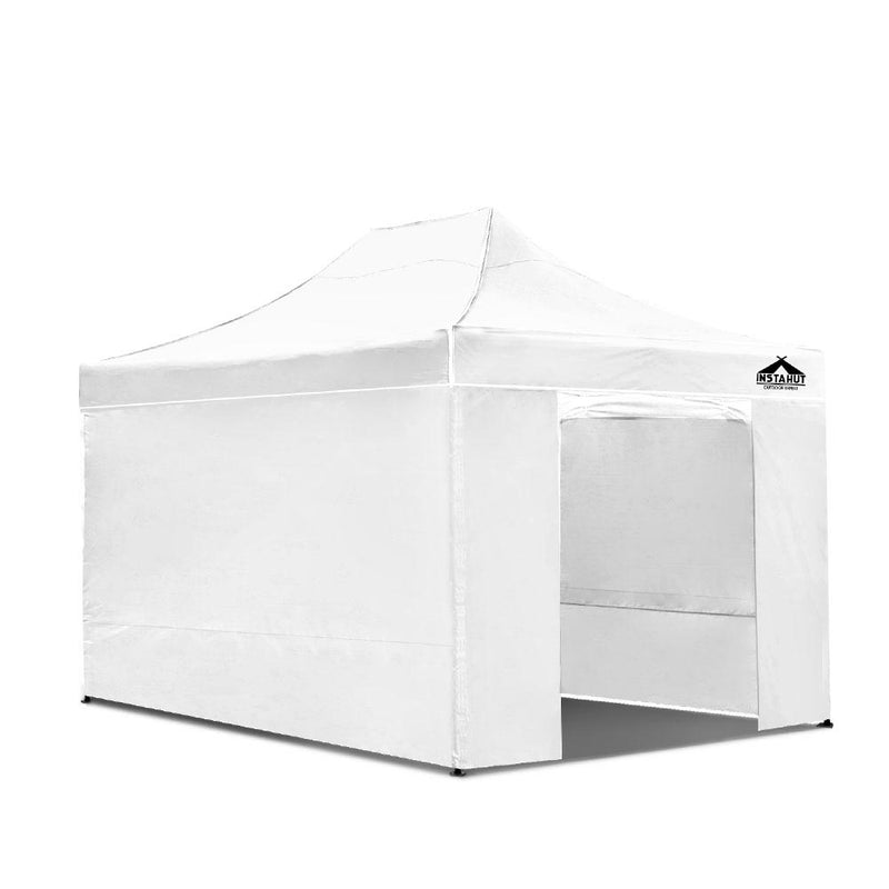 3x4.5M Outdoor Gazebo - White