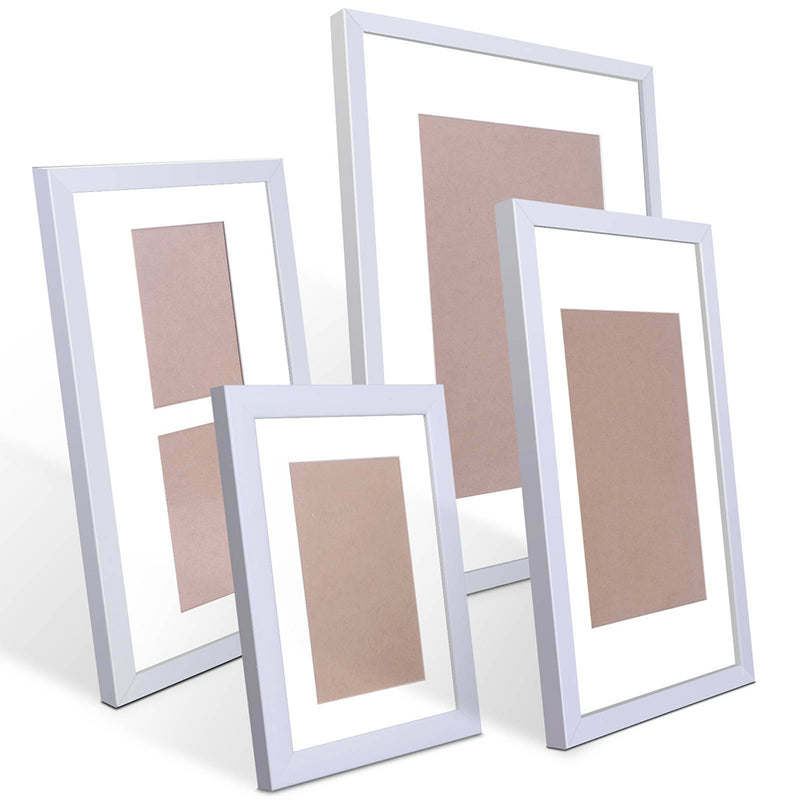 20pc Photo Frame Set - White