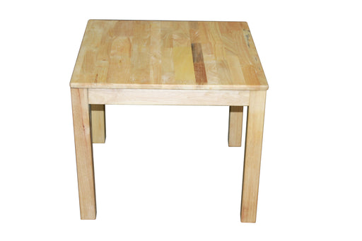 Rubberwood Square Table