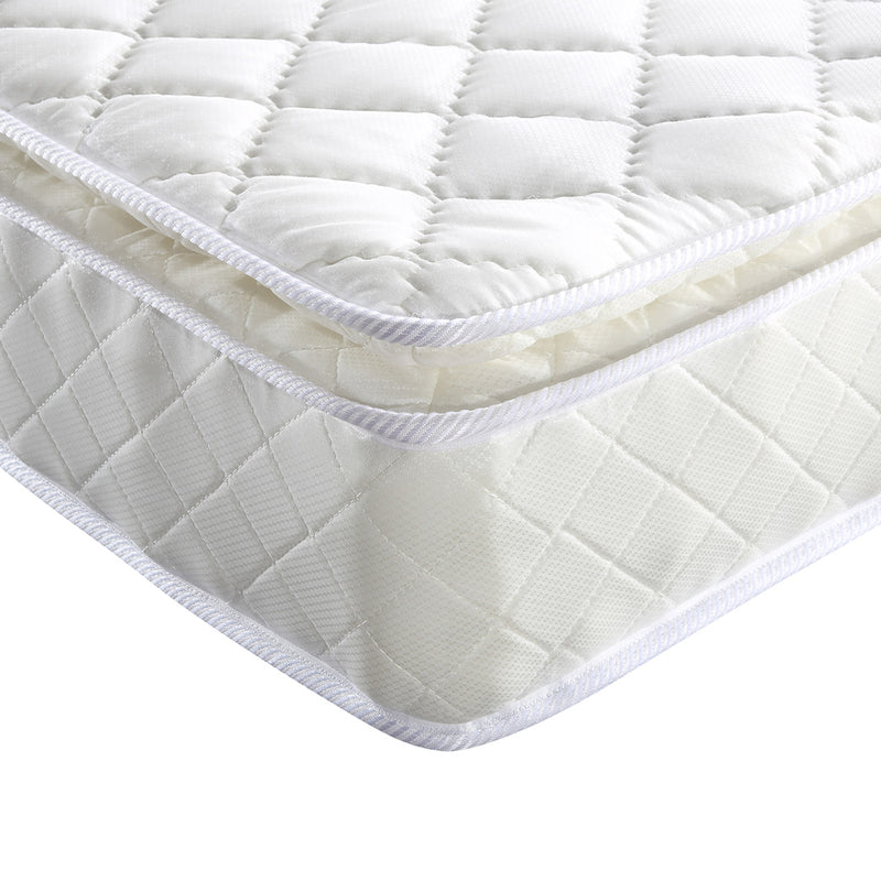 Pillow Top Pocket Spring Mattress 22cm Double