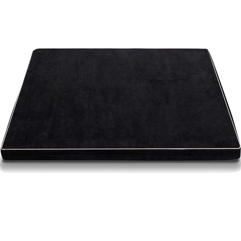 Pet Dog Anti Skid Sleep Memory Foam Mattress Bed Small Black