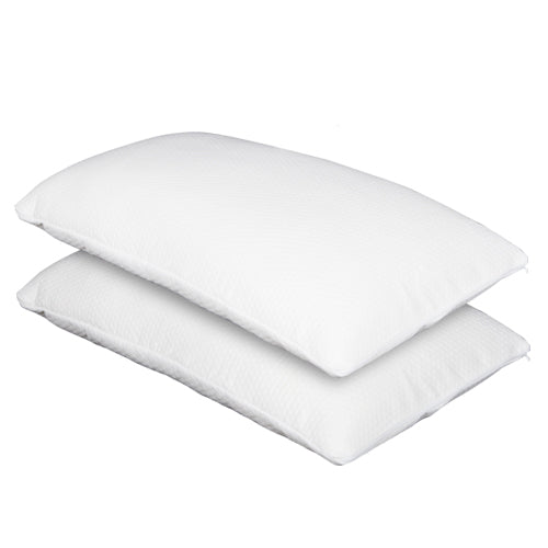 Set of 2 Deluxe Shredded Memory Foam Pillows