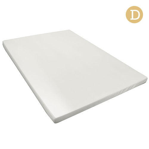 Visco Elastic Memory Foam Mattress Topper 8cm Double