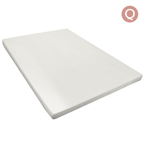 Visco Elastic Memory Foam Mattress Topper 8cm Thick Queen