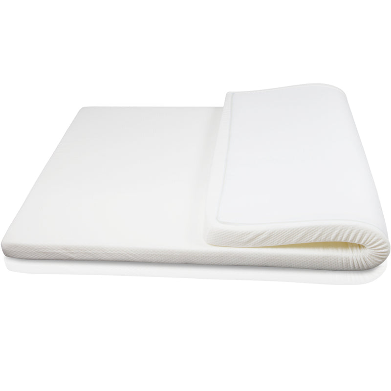 Visco Elastic Memory Foam Mattress Topper 7cm Double