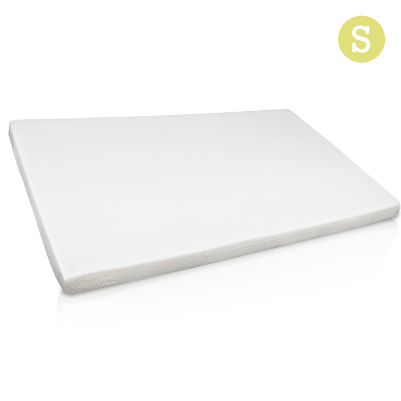 Visco Elastic Memory Foam Mattress Topper 7cm Single