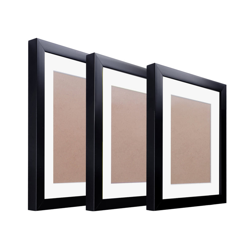 11 pcs Photo Frames Set Wall Black