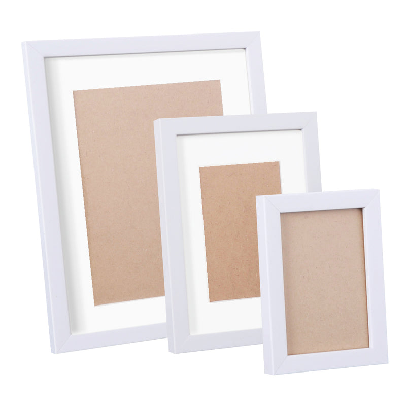 17 pcs Photo Frames Set Wall White