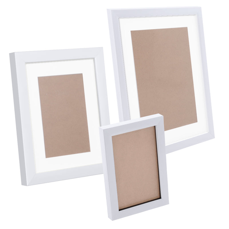23 pcs Photo Frames Set Wall White