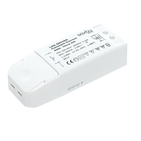 20W 350mA Constant Current LED Driver - bathroomlightsdirect