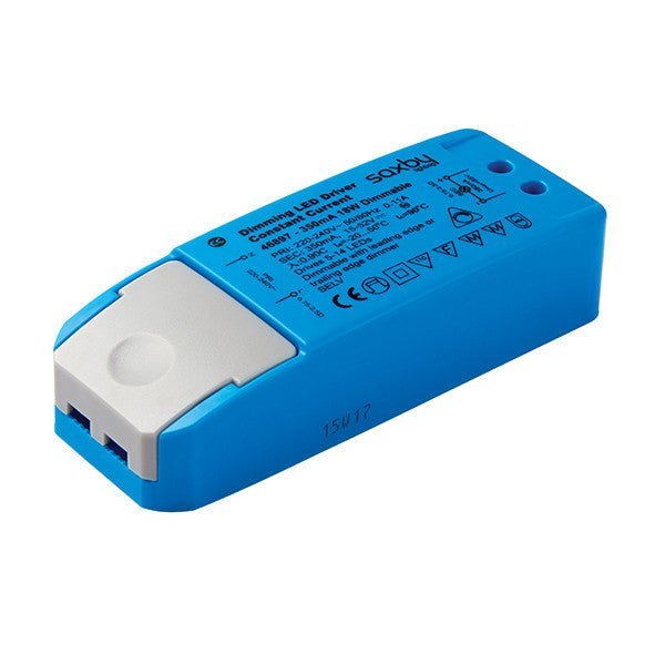 18W 350mA Constant Current Dimmable LED Driver - bathroomlightsdirect