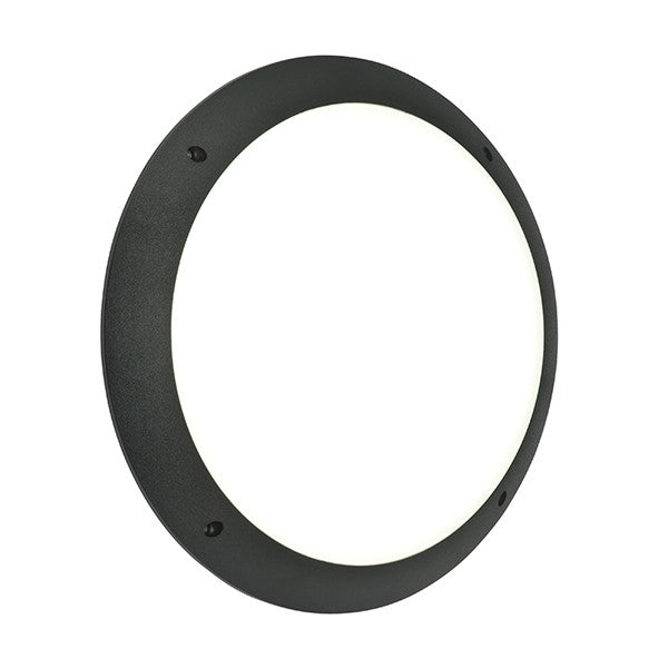 Seran Black LED Wall Light - bathroomlightsdirect