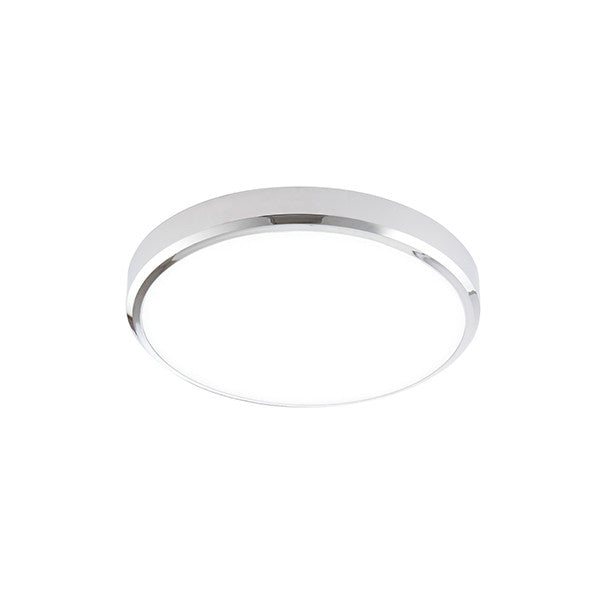 Cobra XS Cool White Chrome Flush Light - bathroomlightsdirect