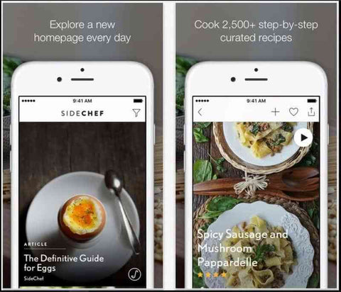 sidechef-cooking-app-ios-android