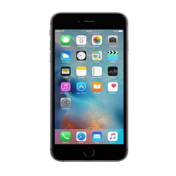 Refurbished Apple IPhone 6 In Space Grey Front View