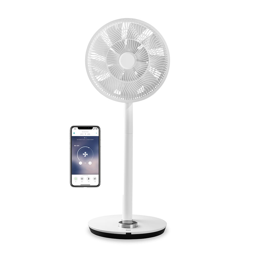 Duux Whisper Flex Smart Fan - White