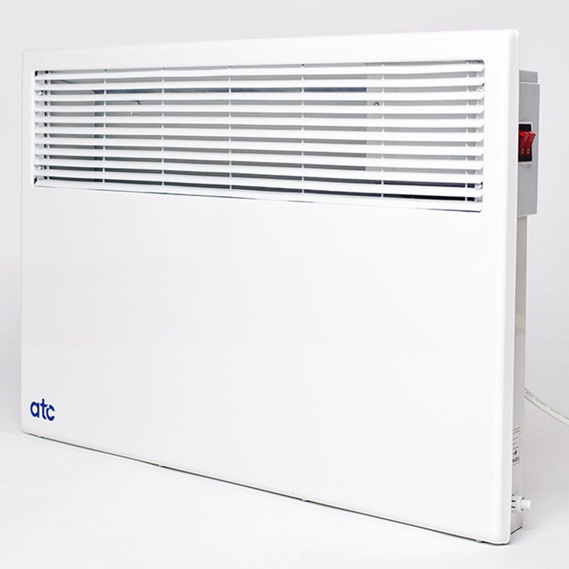 1.5kW Convection Wall Mounted Panel Heater With TIME DELAY & Mechanical Thermostat